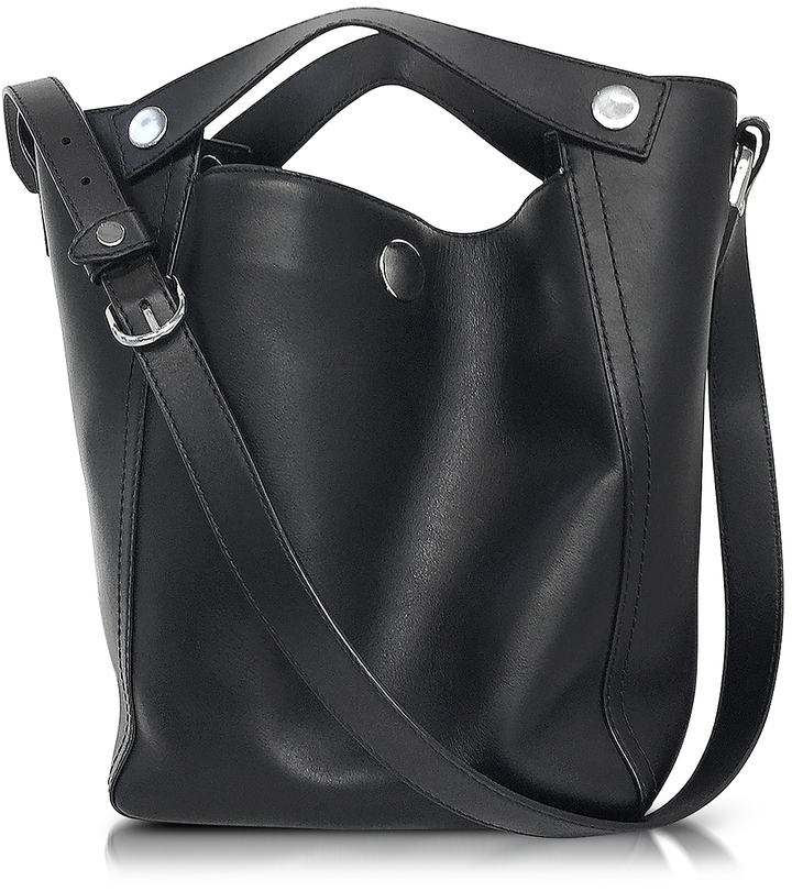 3.1 Phillip Lim 3.1 Phillip Lim Dolly Black Leather Large Tote