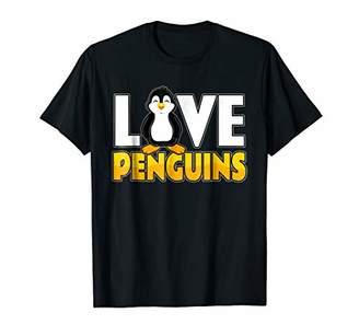 IDEA Penguin Clothing | Love Penguins Shirt | Penguin Gift