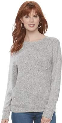 Juicy Couture Women's Embellished Crewneck Sweatshirt