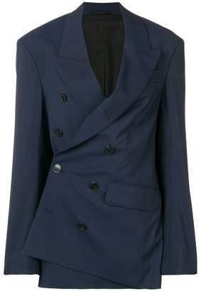 A.F.Vandevorst asymmetric tailored blazer