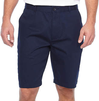 Claiborne Mens Mid Rise Stretch Chino Shorts
