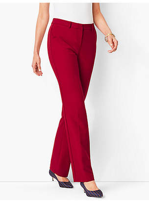 Talbots Italian Luxe Double-Cloth Barely Boot Pants