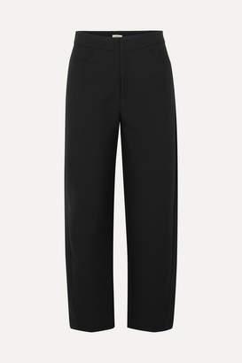 Totême Novara Drill Straight-leg Pants - Black