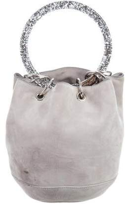 Edie Parker Suede Bucket Bag