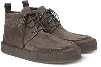 Marsèll Washed-Suede Desert Boots - Men - Brown