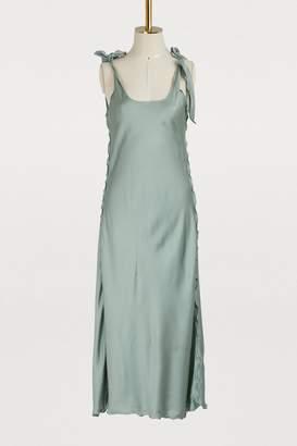 Acne Studios Satin dress