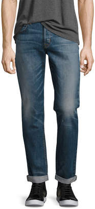 Hudson Men's Blake Double-Cuff Slim-Straight Jeans, Blue