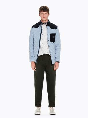 Scotch & Soda Drawstring Pleated Trousers Loose tapered fit