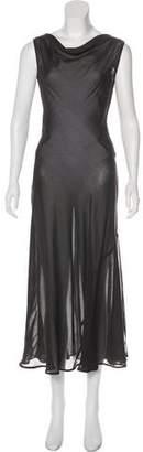 Roland Mouret Sleeveless Maxi Dress
