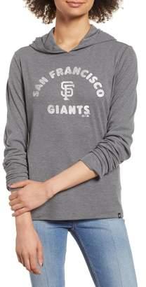'47 Campbell San Francisco Giants Rib Knit Hooded Top