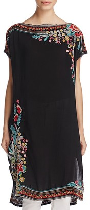 Johnny Was Janice Embroidered Tunic $257 thestylecure.com