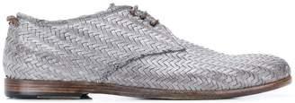 Silvano Sassetti woven brogue shoes