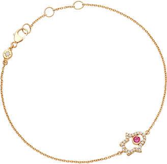 Astley Clarke Biography 14ct yellow-gold hamsa bracelet