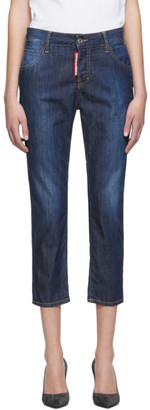 DSQUARED2 Blue Perfection Wash Cool Girl Jeans