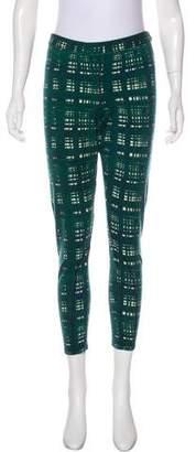 Tory Burch Wool Mid-Rise Leggings