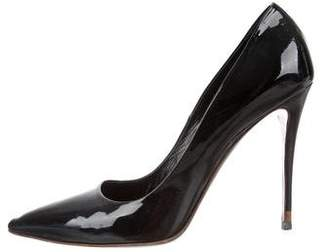 Fendi Patent Leather Pointed-Toe Pumps