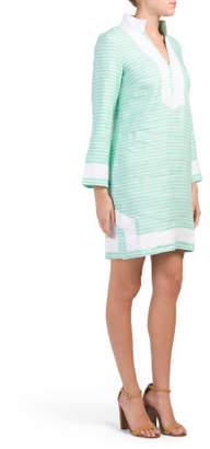 Linen Classic Tunic Dress