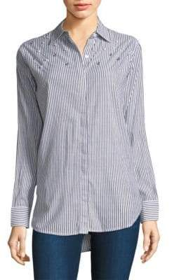 Rails Taylor Stripe Pearl Shirt