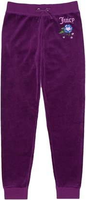 Juicy Couture Velour Pansy Party Zuma Pant for Girls