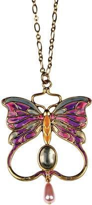 Summit Butterfly Pendant - Collectible Medallion Necklace Accessory Jewelry