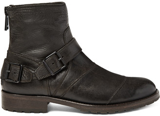 Belstaff Trialmaster Leather Boots $725 thestylecure.com
