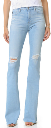 AG The Janis High Rise Jeans $235 thestylecure.com