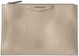 Givenchy Antigona Pink Leather Clutch Bag