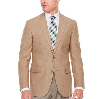 STAFFORD Stafford Linen Cotton Classic Fit Sport Coat