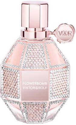Viktor & Rolf Limited Edition Flowerbomb with Swarovski Crystals, 3.4 oz./ 100 mL