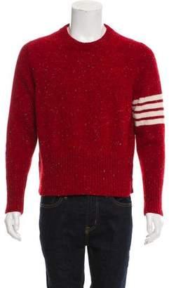 Thom Browne Wool & Mohair-Blend Sweater