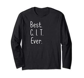 Best CIT Ever Shirt Summer Camp Counselor In Training TShirt Long Sleeve T-Shirt