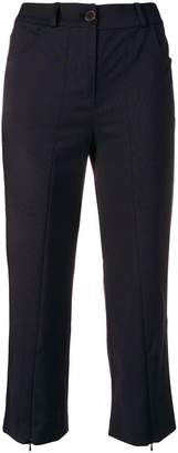 Aalto cropped slim-fit trousers