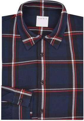 Sandro Check Shirt