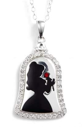 Disney Princess Belle 'Bold as a Rose' Pendant Necklace