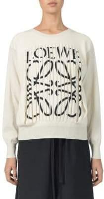 Loewe Cashmere Logo Sweater