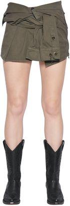 Mini Cotton Canvas Shirt Skirt $710 thestylecure.com