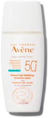 Eau Thermale Avene MINERAL Light Mattifying Sunscreen Lotion SPF 50+