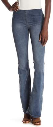 Free People Penny Pull-On Flared Leg Jeans