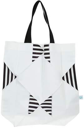 Issey Miyake (イッセイ ミヤケ) - Issey Miyake Cauliflower Striped Detail Shopper Bag
