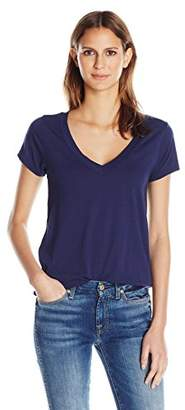 LAmade Women's Relax Fit V-Neck Tee