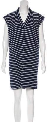 ATM Striped Knit Dress