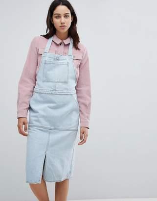 Mads Norgaard Denim Pinafore Dress