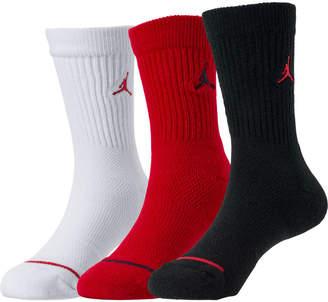 e6bf4ef88 Nike Kids' Jordan 3-Pack Crew Socks