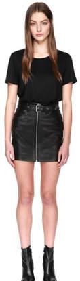 Mackage Demia Leather Skirt