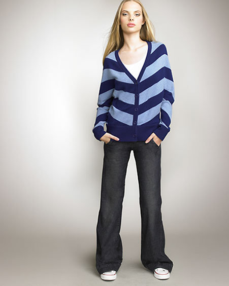 Juicy Couture Striped Cardigan
