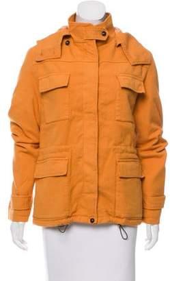 Massimo Alba Hooded Utility Coat