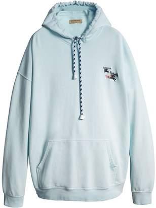 Burberry equestrian logo hoodie
