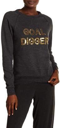 Bow & Drape Goal Digger Sweatshirt
