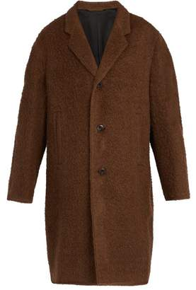 Lemaire Chesterfield Wool Blend Coat - Mens - Brown