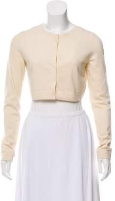 Alaia Virgin Wool Long Sleeve Shrug